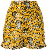 Etoile Isabel Marant Amity printed shorts - women - Cotton - 36