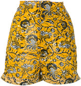 Etoile Isabel Marant Amity printed shorts - women - Cotton - 38