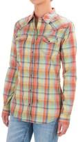 Wrangler Rock 47 Three Snap Shirt - Long Sleeve (For Women)