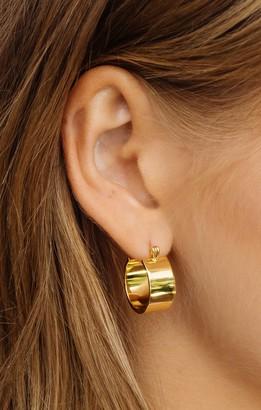 Show Me Your Mumu LUV AJ Positano Hoop Earrings
