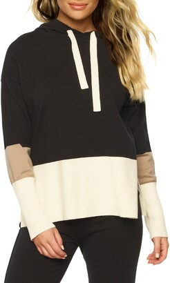 Ginza Stripe Sweater Hoodie