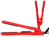 Brilliance New York 2-Piece Traveling Woman Kit: 1.25 Home Flat Iron & Mini Travel Flat Iron - Red
