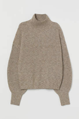 H&M Balloon-sleeved jumper