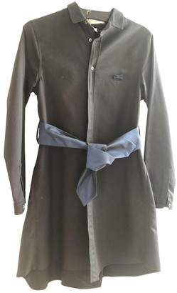 Alexis Mabille Black Cotton Dress for Women