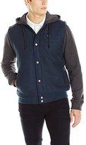 RVCA Men's Puffer Letterman Jacket