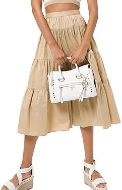 MICHAEL Michael Kors Poplin Tiered Skirt