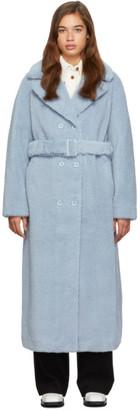 Stand Studio Blue Long Faustine Coat