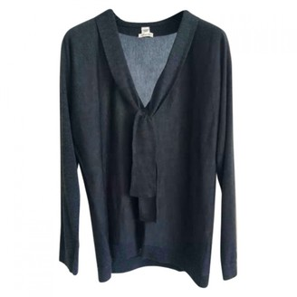 Hermes Anthracite Cashmere Knitwear