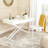 Safavieh Radford White Adjustable Desk