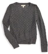 Tucker + Tate Girl's Cross Front Sweater