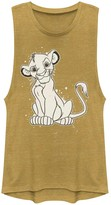 Simba Licensed Character Juniors' Lion King Young Paint Splatter Muscle Shirt
