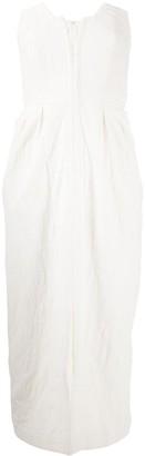 Mara Hoffman Strapless Structured Dress
