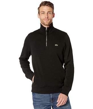 Lacoste Interlock Solid 1/4 Zip Sweater Classic