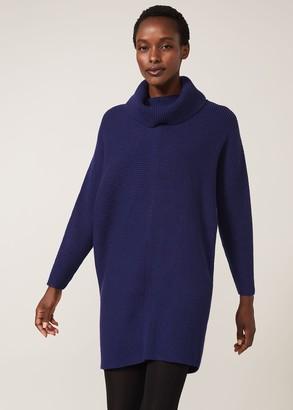 Phase Eight Cathelene Cowl Neck Knit Dress