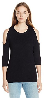 RD Style Women's Cold Shoulder Sweater