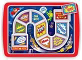 Fred & Friends Dinner Winner Super Hero Kid's Plate