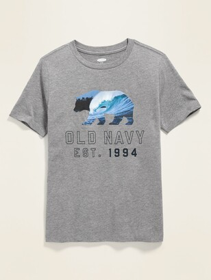 Old Navy Logo-Graphic Crew-Neck Tee for Boys