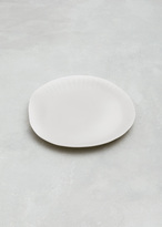 SIN white porcelain small paper plate