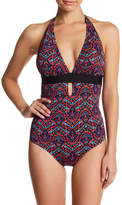 Tart Amaris Cutout Halter One-Piece