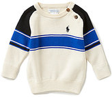 Ralph Lauren Baby Boys 3-24 Months Bold-Stripe Sweater