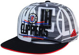 adidas Los Angeles Clippers All Team Screen Print Snapback Cap