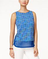 Tommy Hilfiger Brielle Layered-Look Printed Top