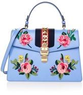 Gucci Sylvie Floral Top Handle Bag