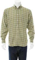 Hermes Linen Button-Up Shirt