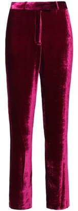 Masscob Beaumont Velvet Straight-leg Pants