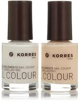 Korres Nudes Nail Color Duo
