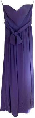 Zimmermann Purple Silk Dress for Women