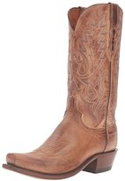 Lucchese Classics Men's Lewis-Tan Mad Dog Goat Riding Boot