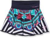 Desigual Girl's FAL_Artes Skirt,(Manufacturer size: 9/10)