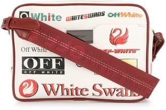 Off-White All-Over Logo Print Camera Bag