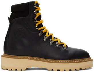 Diemme Black and Beige Monfumo Boots