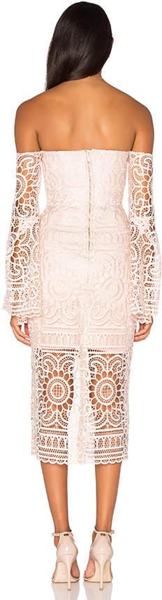 Nicholas Geo Floral Lace Eva Dress