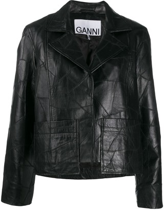 Ganni patchwork jacket