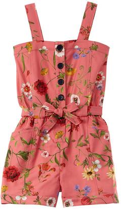 Oscar de la Renta Striped Polka Dot Dress
