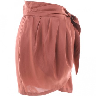 Isabel Marant Brown Silk Skirt for Women