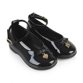 Dolce & Gabbana Dolce & GabbanaBaby Girls Black Patent Leather Shoes