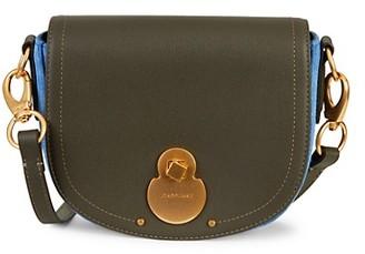 Longchamp Wild Leather Suede Crossbody Bag