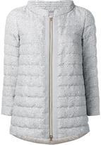 Herno padded zipped jacket - women - Cotton/Acrylic/Polyamide/Feather - 44