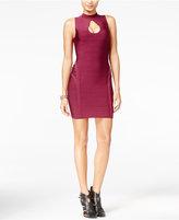 GUESS Mirage Lattice-Detail Bandage Dress