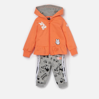 adidas Girls' Infant Minnie Mouse Jogger And Hoody Set