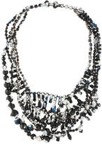 Tom Binns Painted Bead & Crystal Necklace