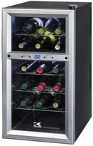Kalorik 18-Bottle Stainless Steel Wine Cooler