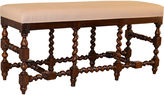 One Kings Lane Vintage Late-19th-C. English Turned Bench