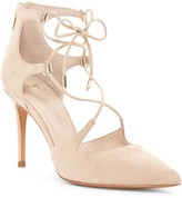 Marc Fisher Toni Lace-Up Pointed Toe Pump
