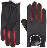 Tommy Hilfiger Women's Biker Leather Gloves
