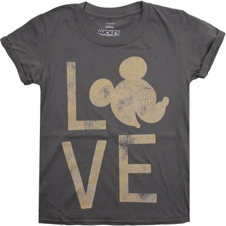 Disney Girls' Mickey Love T-Shirt